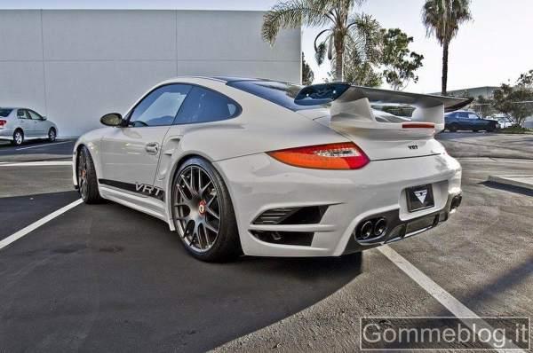Michelin Pilot Sport 2 per la Porsche 911 Turbo by Vorsteiner