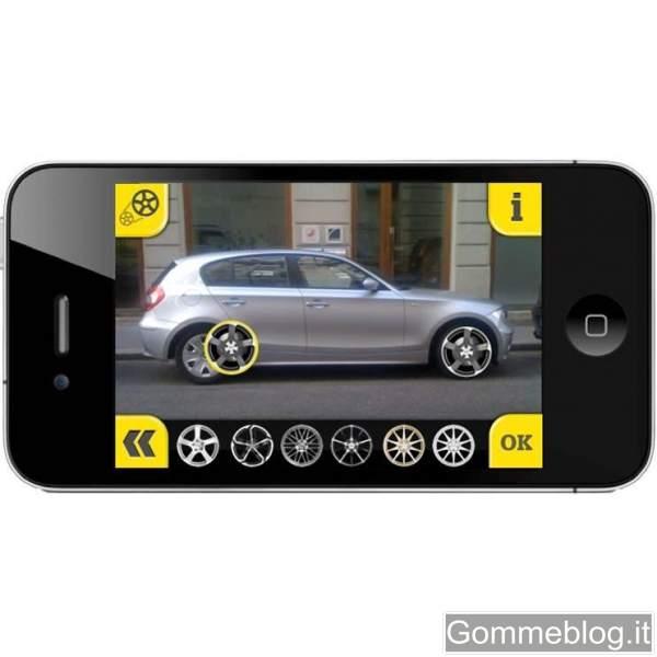 App per Iphone: configura la tua auto con i cerchi in lega AEZ e Dotz
