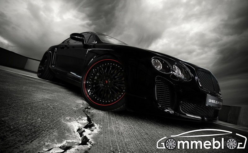 Cerchi in lega da 21 e gomme Dunlop Sport Maxx per la Bentley Continental Supersports by Wheelsandmore
