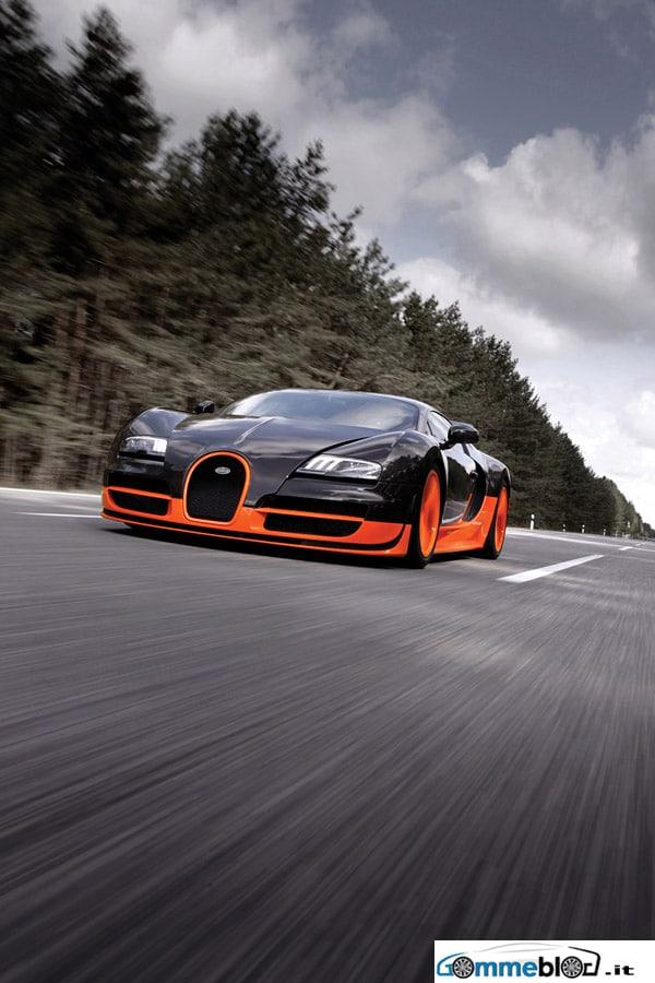 Video Bugatti Veyron SS: Michelin Pilot Sport per scaricare i 1200 CV