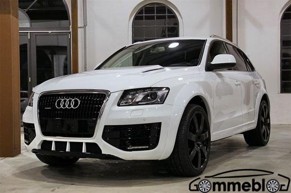 Enco Audi Q5; cerchi in lega da 22 e pneumatici SUV Pirelli Scorpion Zero