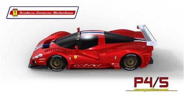 Michelin e la Ferrari P4/5 di Glickenhaus quasi pronti per la 24 Ore del Nurburgring