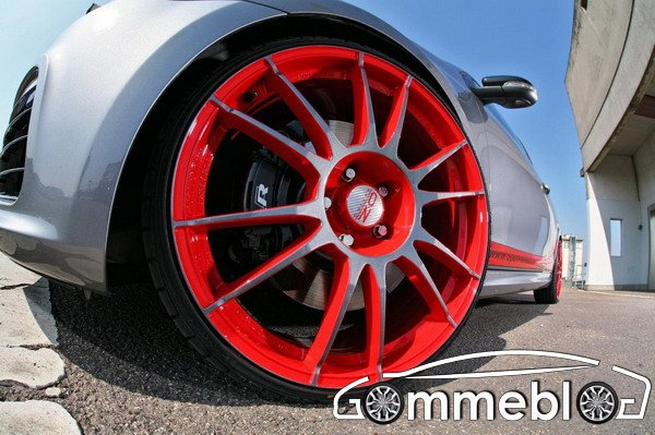 Cerchi in lega OZ Ultraleggera per la Golf R20 by Sport- Wheels
