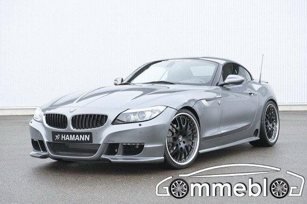 Pneumatici Michelin Pilot Sport 2 e cerchi in lega da 20 per la BMW Z4 E89 by Hamann 1