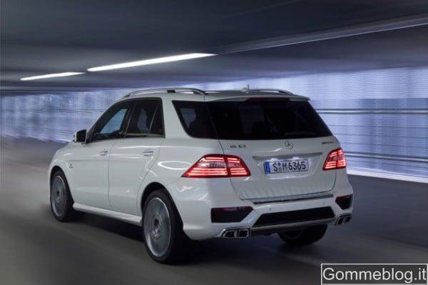 Mercedes ML 63 AMG: le caratteristiche in dettaglio 4