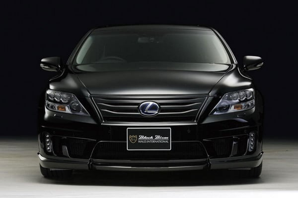 Lexus LS600h Black Bison