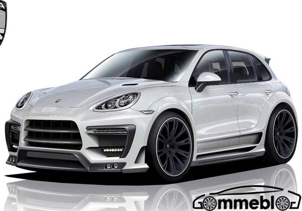 Tuning Porsche Cayenne by Lumma Design: CLR 550 GT, cerchi in lega da 23 pollici e tanto carbonio