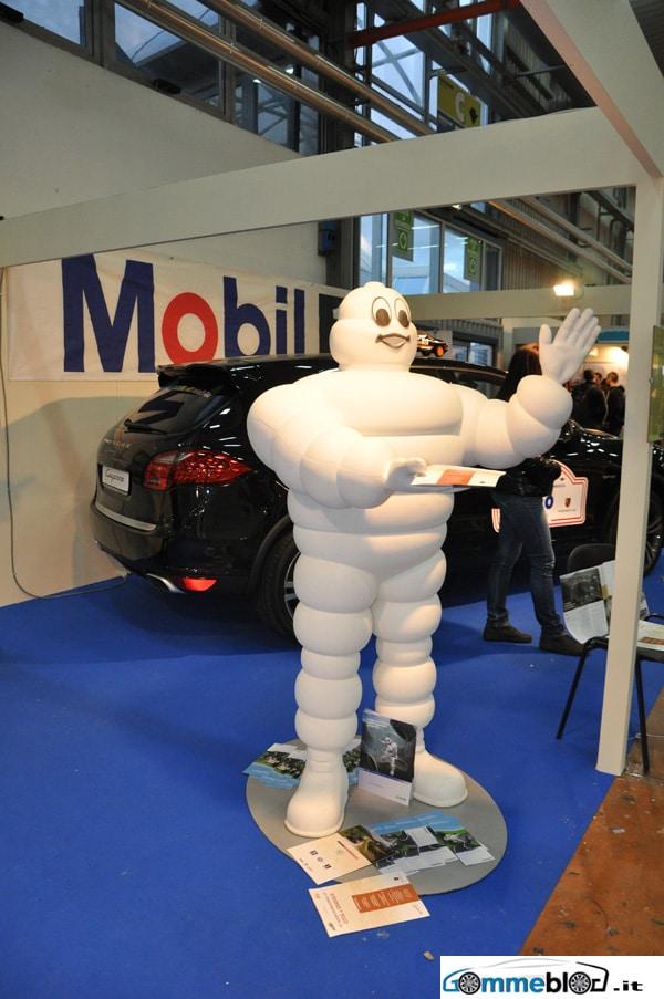 Michelin e Porsche Cayenne al 4×4 Fest 2010 : Stand Città di Gradisca