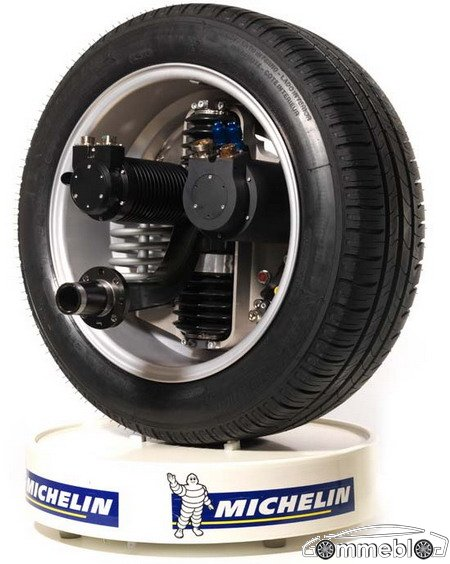 michelin active wheel 05 Michelin Active Wheel
