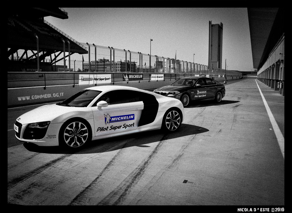 Michelin Pilot Super Sport: Test su Audi R8 5.2 V10