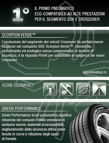 Pirelli Scorpion Verde: primi pneumatici SUV Verdi ad elevate prestazioni 1
