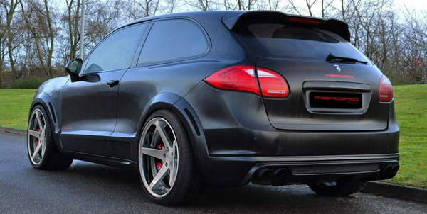 Porsche Cayenne Coupe tuning by Merdad