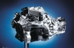Volkswagen 6-speed DSG: sectioned model of gearbox unit