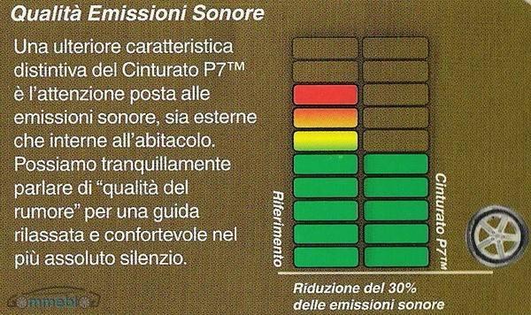 Cinturato P7 confort Pirelli Cinturato P7: pneumatici verdi, disponibili solo in nero