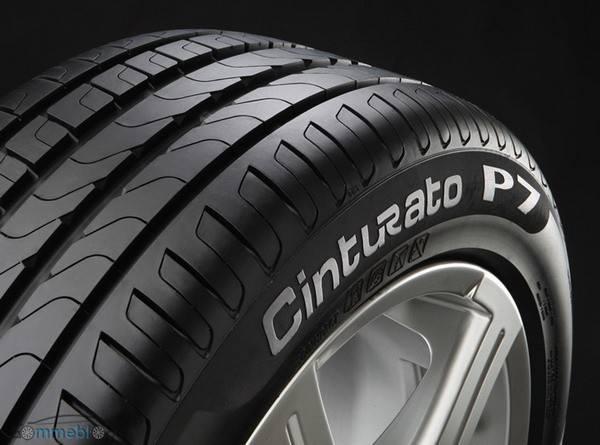 Pirelli Cinturato P7: pneumatici verdi, disponibili solo in nero