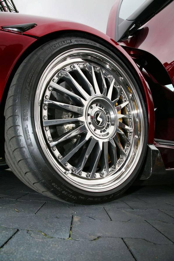 Lamborghini Murcielago LP 640 JB-R JB michelin pilot sport