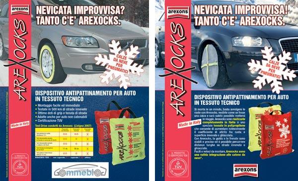 CALZE DA NEVE AREXOCKS TAGLIA M