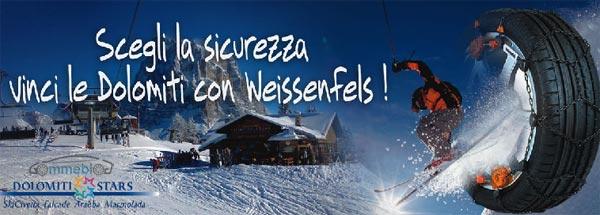 vinci weekend neve con Weissenfels