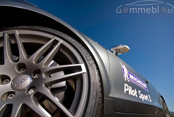 Michelin Pilot Sport 3: Test su strada (Open Road)