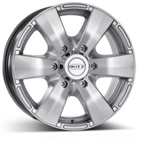 Cerchi Fuoristrada DOTZ Luxor: realizzati in Alluminio e Cromo