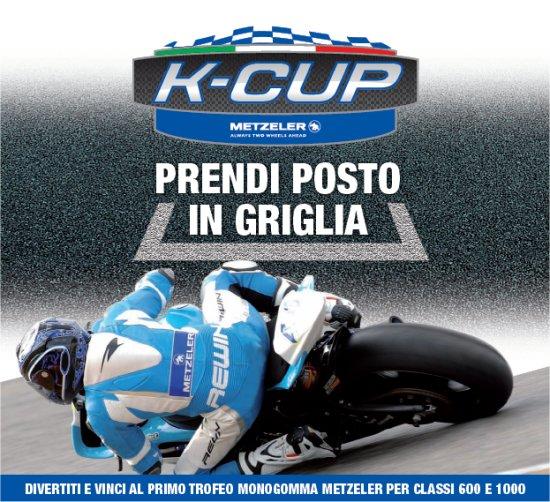 Trofeo K-Cup Metzeler, si parte l'11 Aprile a Misano; ancora aperte le iscrizioni 1
