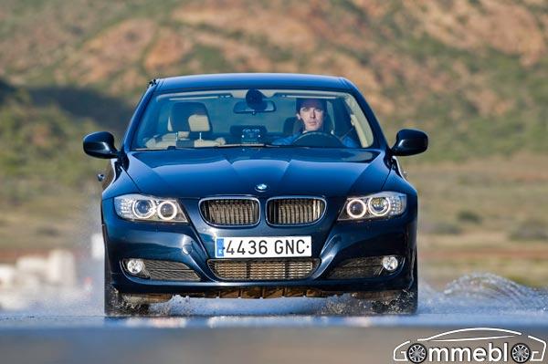 Michelin Pilot Sport 3: Test di Frenata su pista bagnata sfidano Goodyear Eagle F1 su BMW 320d