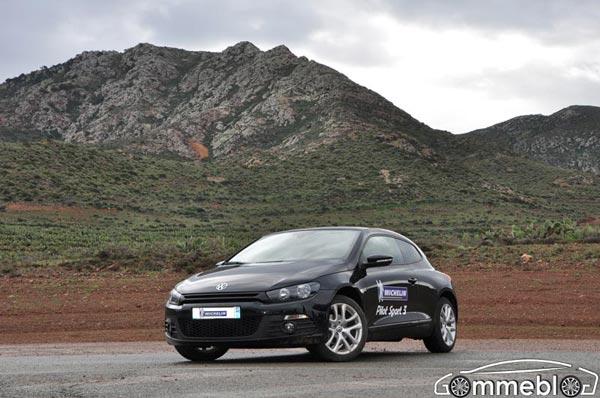 Michelin Pilot Sport 3: Test in pista: sfidano Continental e Dunlop. Auto VW Scirocco TDI