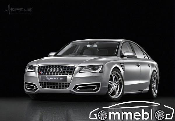 Cerchi in lega da 20 e 22 pollici per la nuova Audi A8 D4 by Hofele Design 1