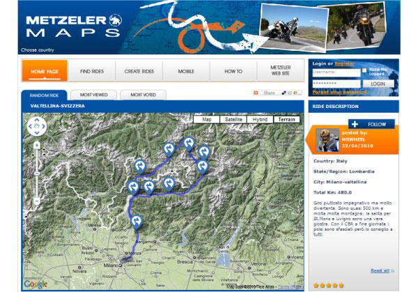 Metzeler-Maps