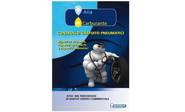 Michelin Piu aria meno carburante