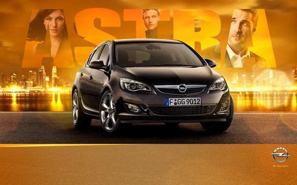Pneumatici Opel Astra