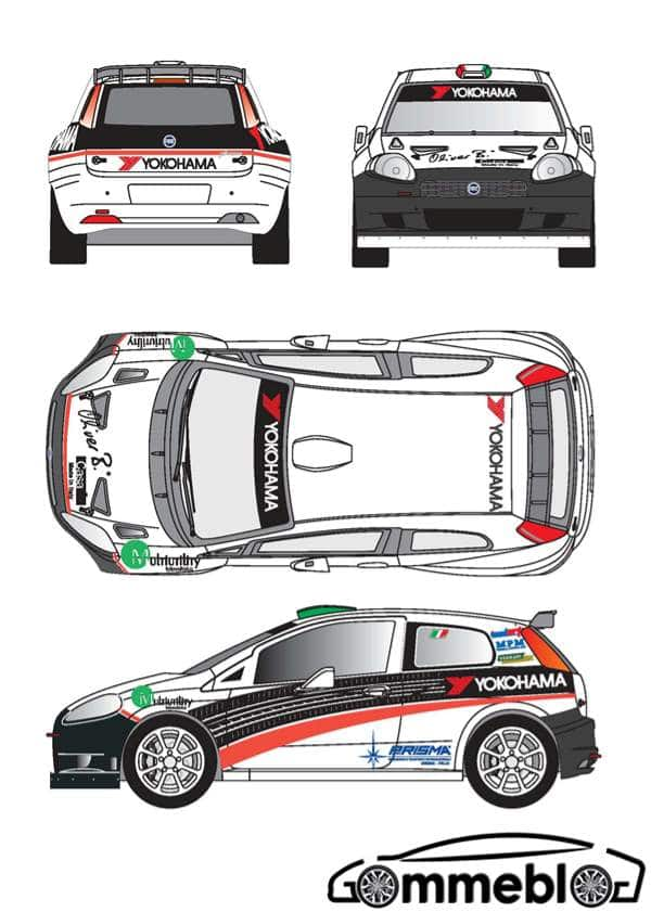 Yokohama Rally auto Riccardo Scandola