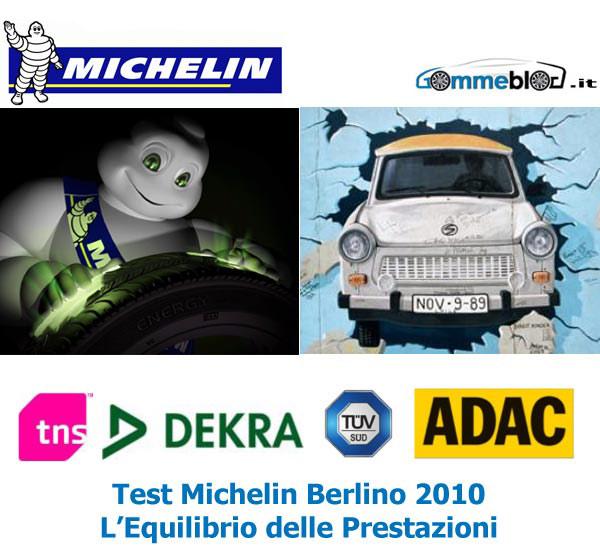 Test Pneumatici Michelin 2010 presso il Centro ADAC di Berlino: Gommeblog.it parteciperà all'evento 1