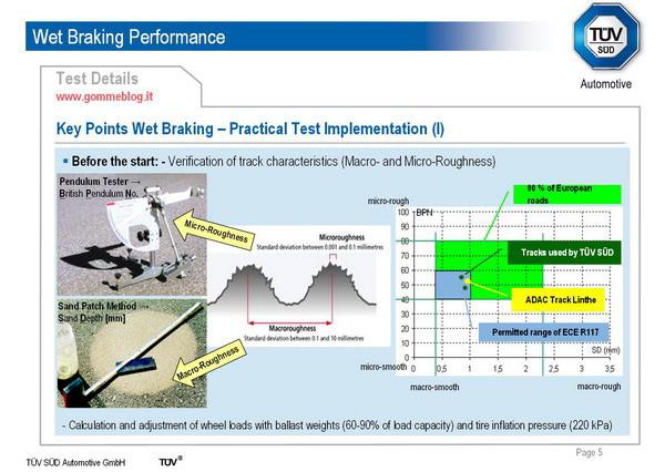 TUV SUD Automotive: Come si effettuano i test di frenata sul bagnato 2
