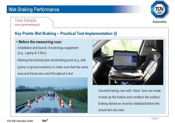 TUV SUD Automotive: Come si effettuano i test di frenata sul bagnato 3