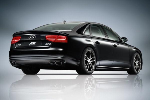 Cerchi in lega da 21 per l'Audi A8 elaborata da ABT 1