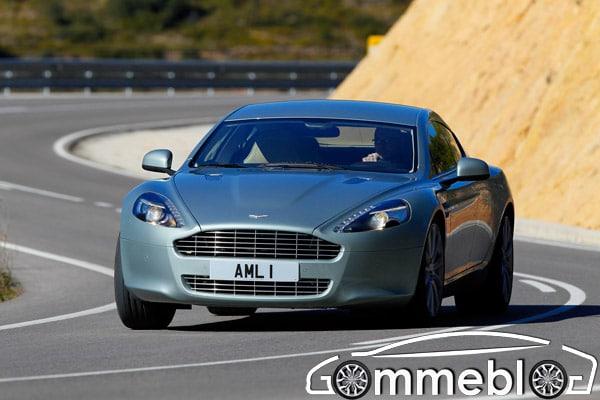 Bridgestone Potenza S001: primo equipaggiamento sulla nuova Aston Martin Rapide 1
