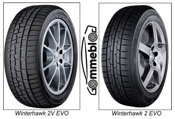 Pneumatici invernali Firestone Winterhawk 2 EVO e Winterhawk 2V EVO 1
