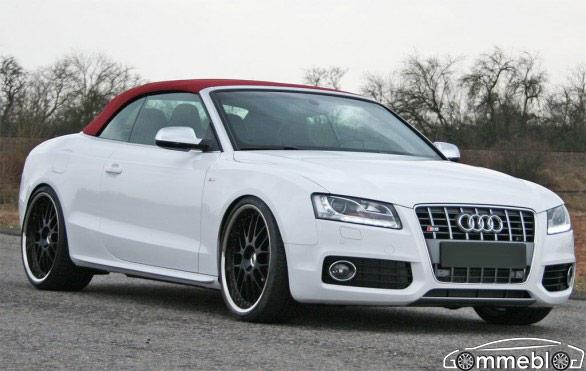 Audi S5 Cabrio, Tuning by Hs Motorsport: enormi i cerchi da 21