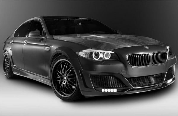 CLR 500 RS2, elaborazione by Lumma Design e TopCar su base BMW 535i 2