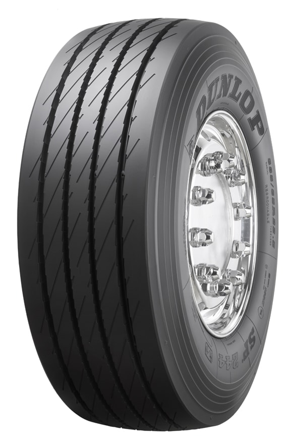 Dunlop SP 244, nuovo pneumatico per rimorchio