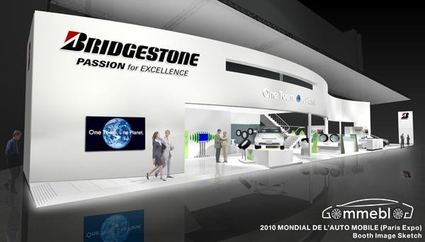 Pneumatici Bridgestone al Motor Show 2010 di Parigi