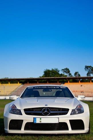 Elaborazione Mercedes SL65 AMG Black Series: 1015 CV by MKB 2
