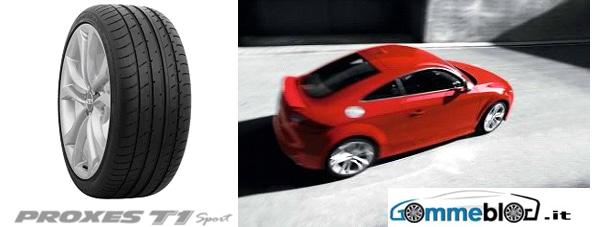 Pneumatici Toyo Proxes T1 Sport come 1° equipaggiamento per Audi TT e TTS 1