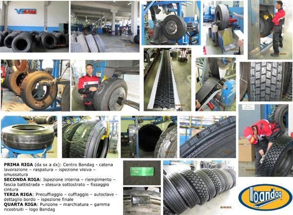 Bandag: pneumatici ricostruiti con tecnologia offerta da Bridgestone