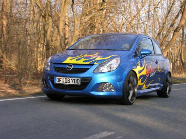 Dbilas Dynamic Opel Corsa OPC: 320 CV e gomme Hankook 1