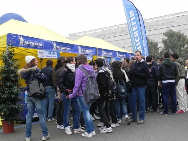 In migliaia alla prima Giornata Michelin per la Sicurezza Stradale 1