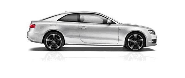 Cerchi in lega Dark Titanium da 19 per Audi A4 ed A5 Black Edition 1