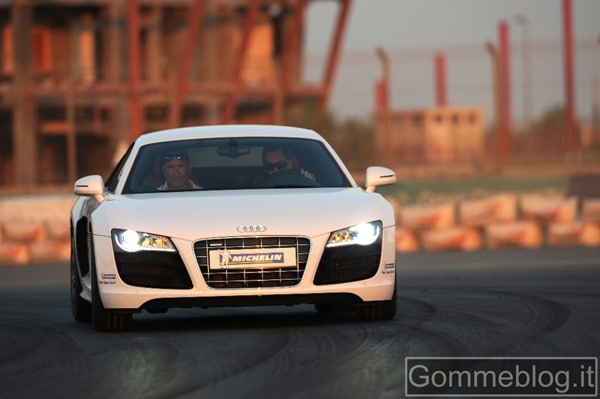 Michelin Pilot Super Sport: Test su Audi R8 5.2 V10 2