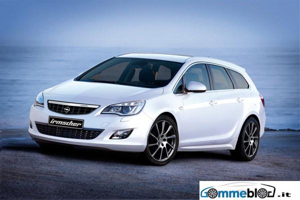 Cerchi da 20 e look sportivo per la nuova Opel Astra Sport Tourer by Irmscher 1